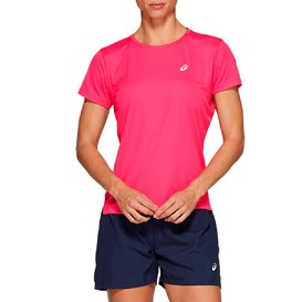 REMERA ASICS SILVER SS TOP MUJER